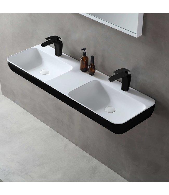 Sanitear Ophang wastafel solid surface 120x40x12cm