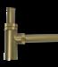 """Como Mood 60 design sifon 1 1/4"""" messing goud  PVD"""
