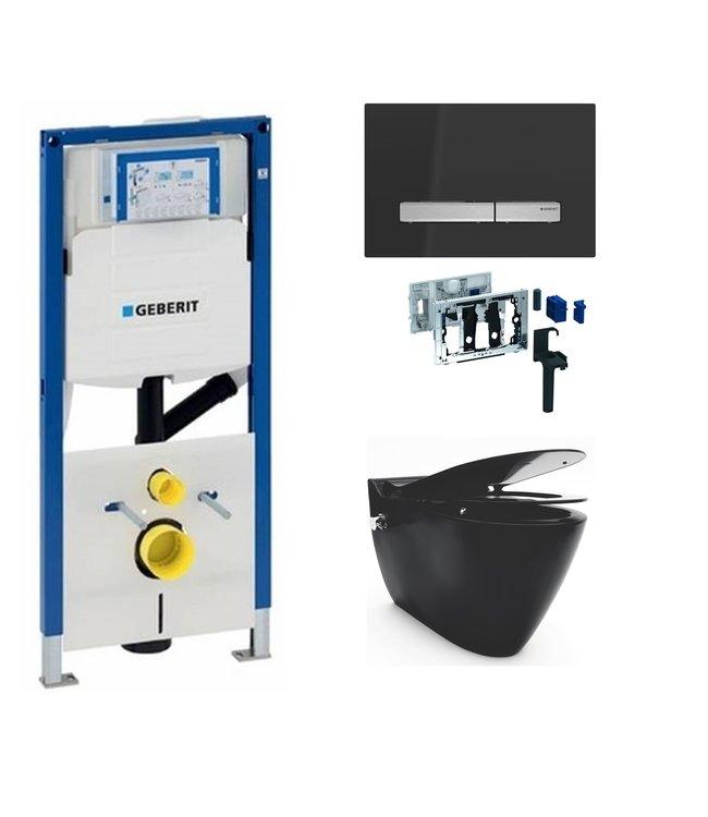 Geberit  Toiletset UP320 met sigma50 drukplaat wc met bidet toiletset DF14