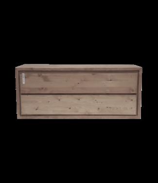 KAAN  Badkamermeubel 110 cm massief hout