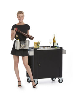 Oesterbar Serve-trolley