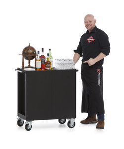 Whisky/cognac trolley