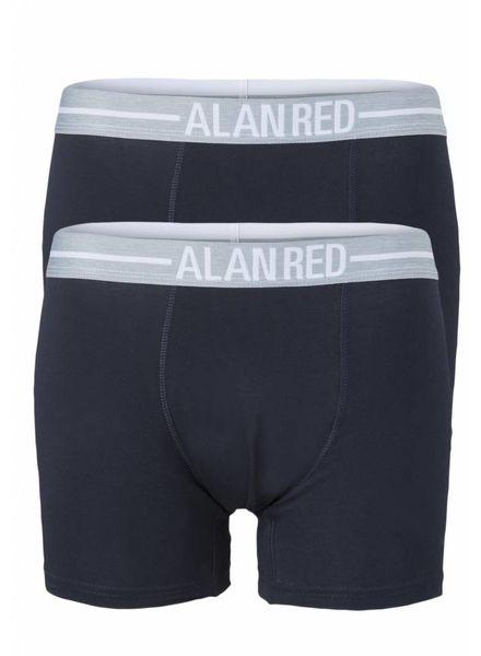 Alan Red 7001/2-06 d.Blauw/Blauw 2-packboxer