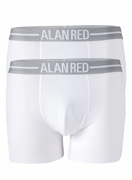 Alan Red 7001-01 Wit/Wit 2-packboxer