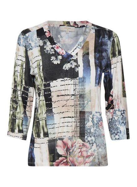 Cream 10602987 Valentina blouse