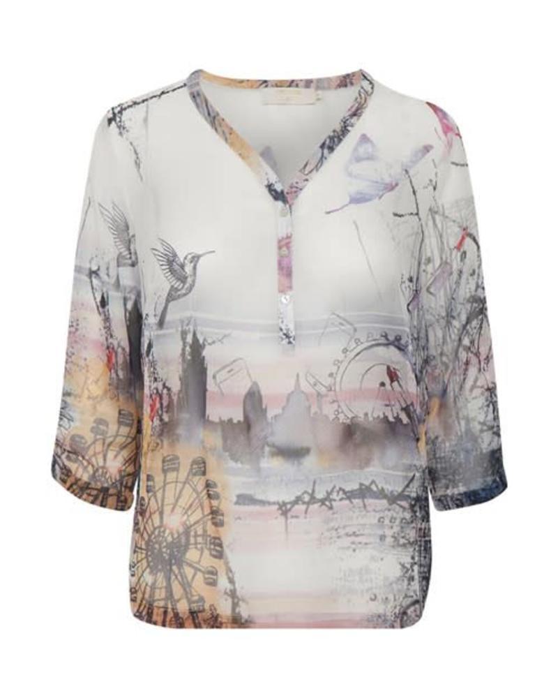 Cream 10603380 Addie blouse