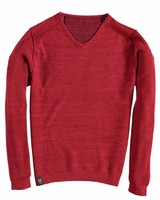 Fellows 91.1115 Pullover v-neck Solid