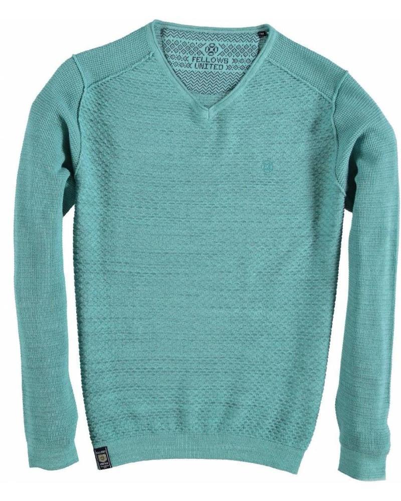 Fellows 91.1115 Pullover v-neck Solid