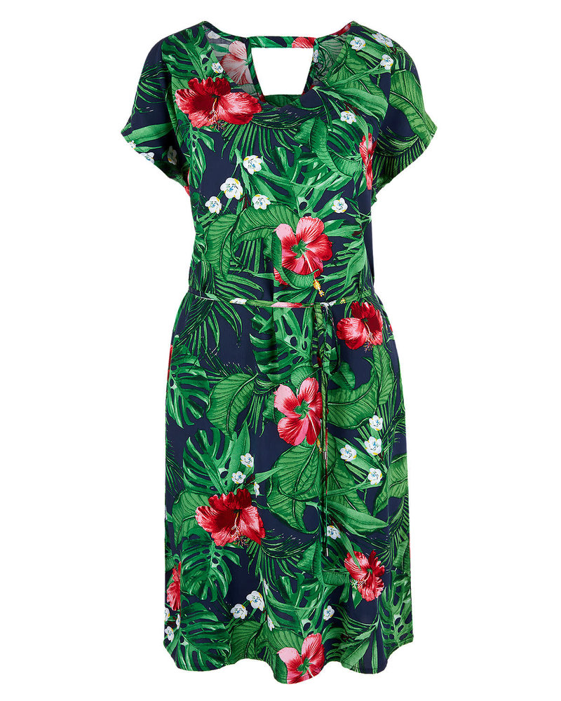 S'Oliver (dames) 05.906.82.324.59A9 ( tropical groen)