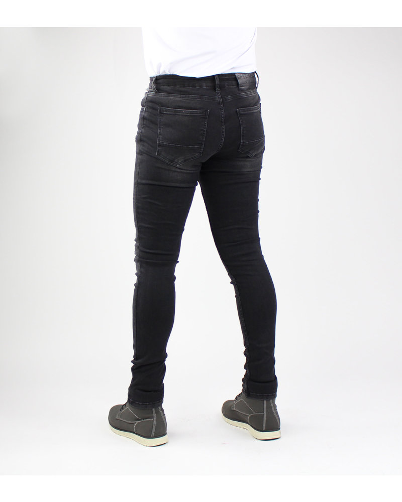 Gabbiano 82655 Ultimo Jeans – Black Destroyed