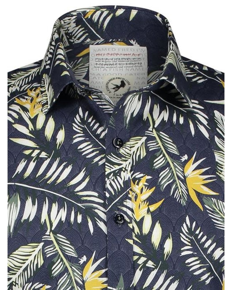 A Fish Named Fred 92.02.048 Shirt deco botanical