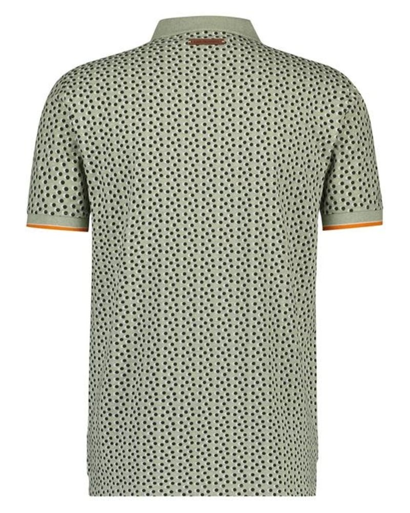 A Fish Named Fred 20.03.304 Polo Mini Dots Green