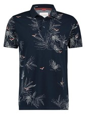 A Fish Named Fred 20.03.321 Polo Embroidery Bird Navy Pique