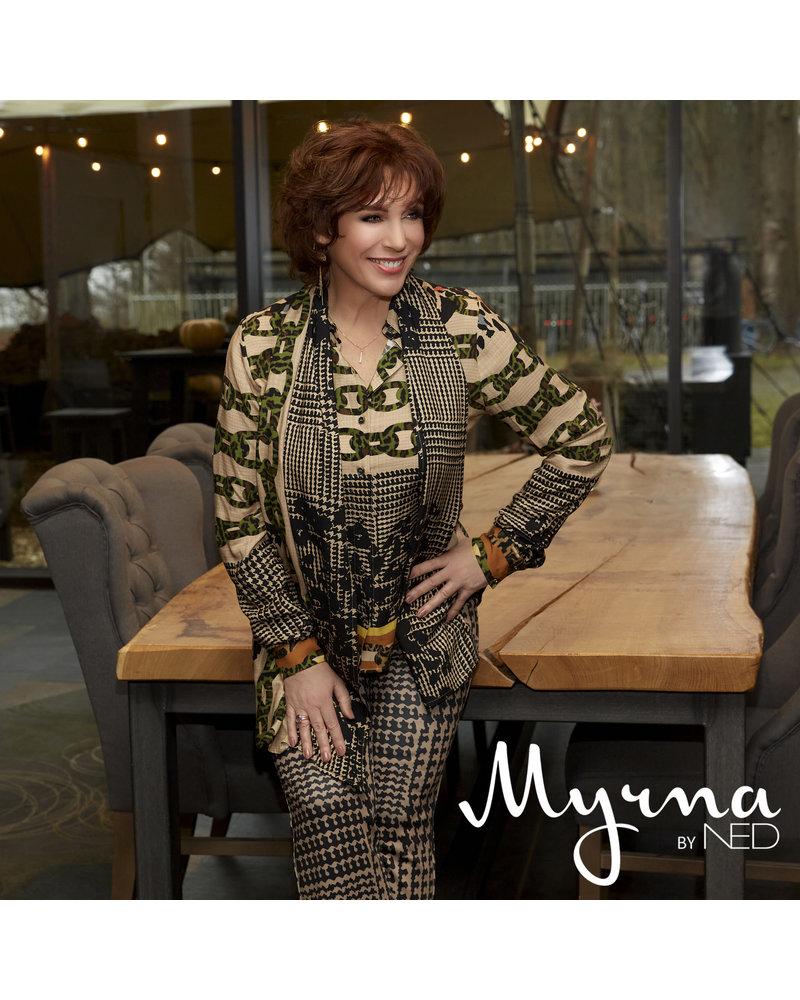 Myrna by NED MYR20W1-120S-02 Vera Camel Panter Border