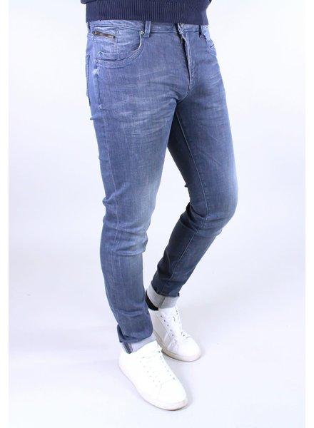 Gabbiano 82898 Skinny Jeans Blue Smoke