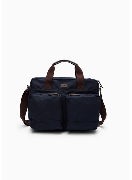 S'Oliver (heren) 97.008.94.2167 (bag van canvas blauw)