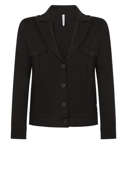 ZOSO 211 Power Comfy detailed Jacket zwart