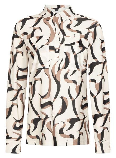 ZOSO 211 Judith Splendour printed blouse (6000-0005 multi off white)
