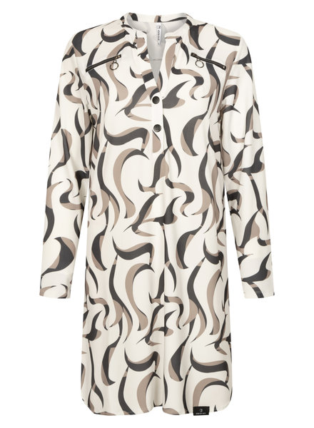 ZOSO 211 Suzie Splendour printed tunic (6000-0005 multi off white)