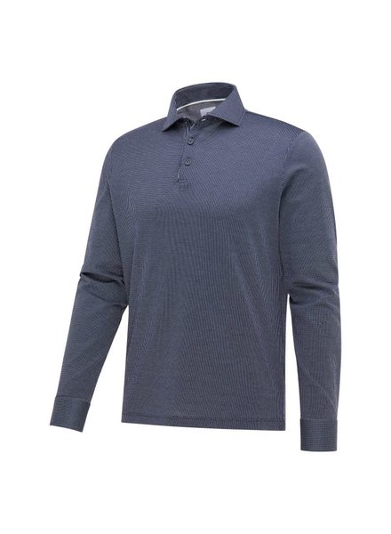 Blue Industry 2309.11 Navy-white polo shirt jersey