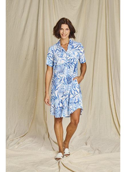 Comme ça Doris 03 blue jurk