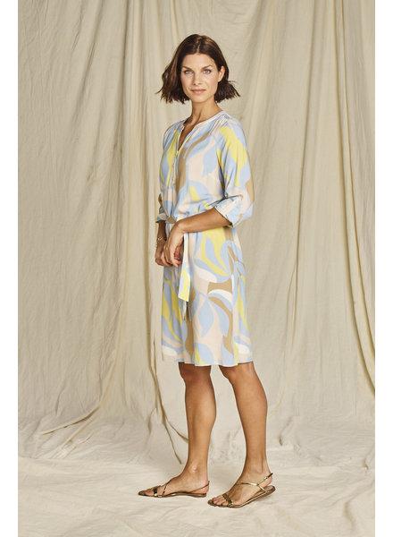 Comme ça Selah 05 Soft blue jurk