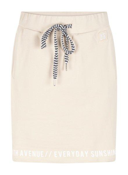 ZOSO 214 Mia Sporty sweat skirt with print 0016 sand