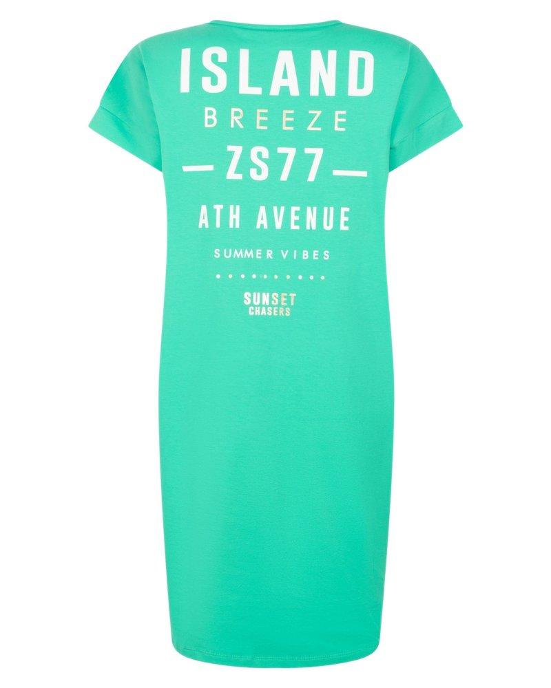 ZOSO 214 Island 1250-green Sporty dress with print
