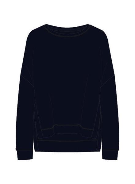 Milano 13-5211-8492-7 Sweatshirt with oversized shoulders: dark blue