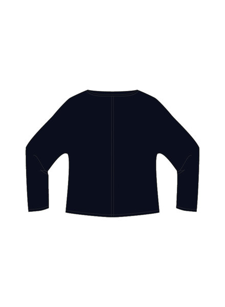 Milano 13-5048-9445-8 Pullover with batwing sleeves: dark blue