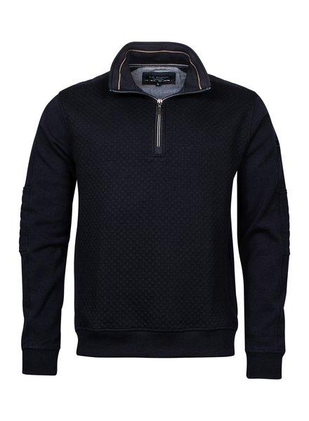 Baileys / Giordano 123130 Sweatshirt Zip 105 Blauw
