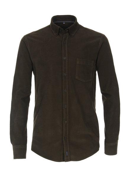 Casamoda 413721300 300 shirt baby rib groen