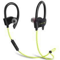 Bluetooth 4.1 Sport Oordopjes- Draadloze Oordopjes -  Hoofdtelefoon - Hardlopen - Zwart/Groen