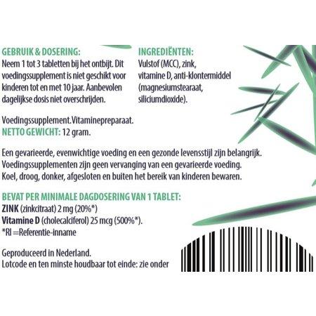 Fen Fen - Vitamine D3 - 60 tabletten