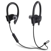 Bluetooth 4.1 Sport Oordopjes- Draadloze Oordopjes -  Hoofdtelefoon - Hardlopen - Zwart