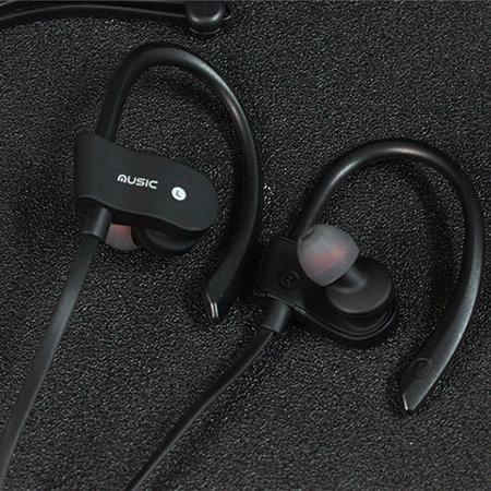 Fen Bluetooth 4.1 Sport Oordopjes- Draadloze Oordopjes -  Hoofdtelefoon - Hardlopen - Zwart