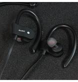 Fen Bluetooth 4.1 Sport Oordopjes- Draadloze Oordopjes -  Hoofdtelefoon - Hardlopen - Zwart/Rood