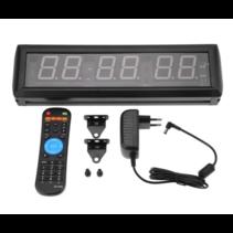 Crossfit Clock – timer – interval training - afstandsbediening – geschikt voor crossfit en fitness