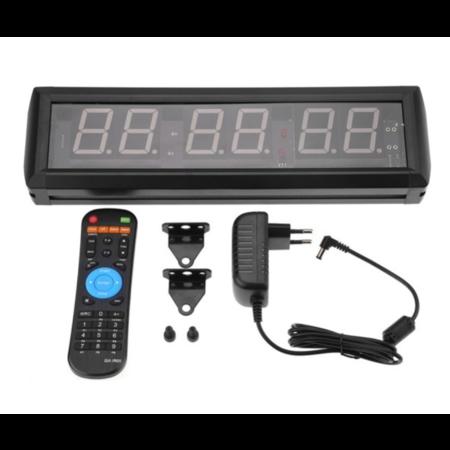 Fen Crossfit Clock – timer – interval training - afstandsbediening – geschikt voor crossfit en fitness