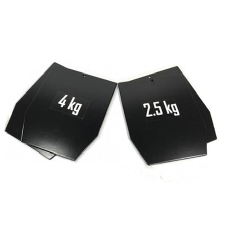 Fen Lasercut weight plates – used for Fen-platecarrier – 5.75LBS/2.5KG