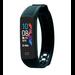 Fen Activity tracker – Hartslagmeter - Lichaamstemperatuur – Slaaptracker – Bloeddrukmeter – Zwart