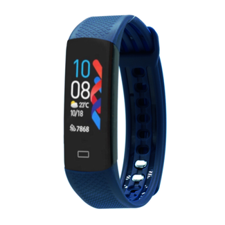 Fen Activity tracker – Hartslagmeter - Lichaamstemperatuur – Slaaptracker – Bloeddrukmeter – Blauw
