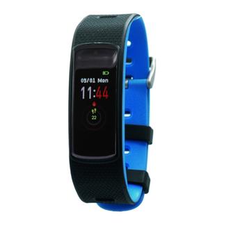 Fen Activity tracker - Met hartslagmeter - Slaaptracker - I6hr - blauw/zwart