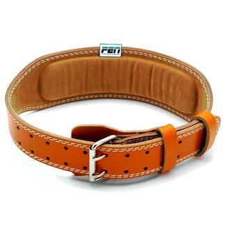Fen powerlifting belt – leder - bruin