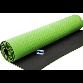 Fen Yoga Mat Groen – fitness mat – extra dik – geschikt voor yoga, crossfit, fitness en hometraining