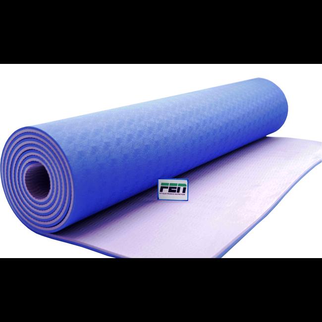 Fen Yoga Mat Paars – fitness mat – extra dik – geschikt voor yoga, crossfit, fitness en hometraining