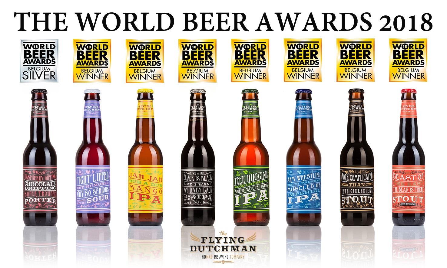 8 awards tijdens World Beer Awards 2018