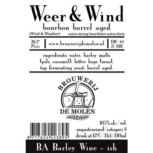 Brouwerij de Molen Weer & Wind Bourbon Brett