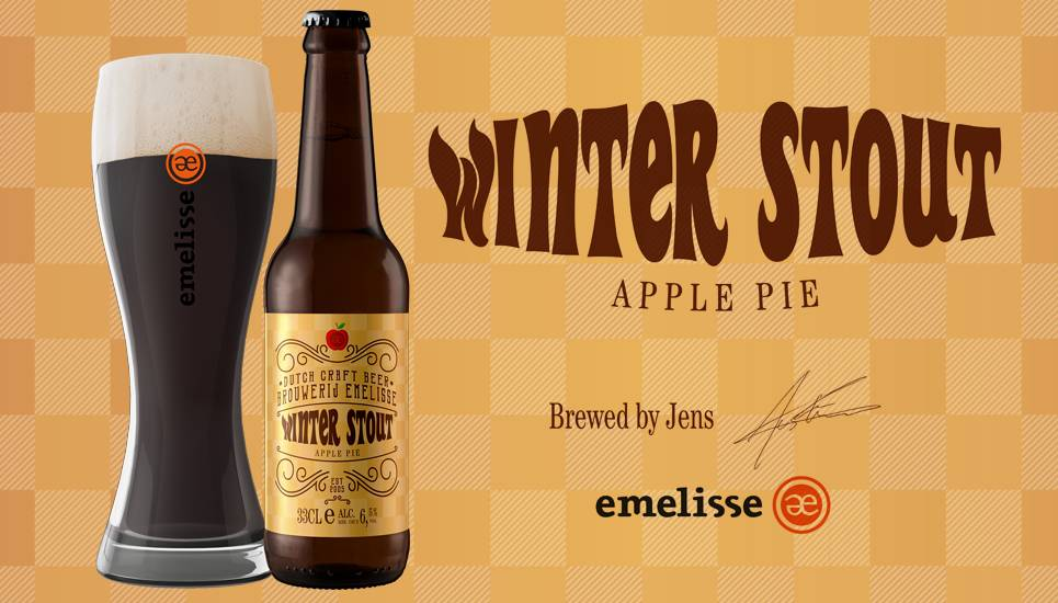 Emelisse Winter Stout Apple Pie
