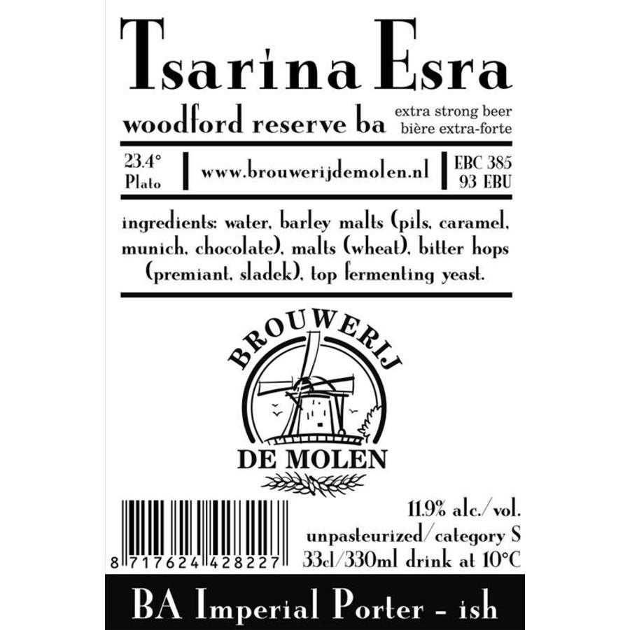 Brouwerij de Molen Tsarina Esra Woodford BA